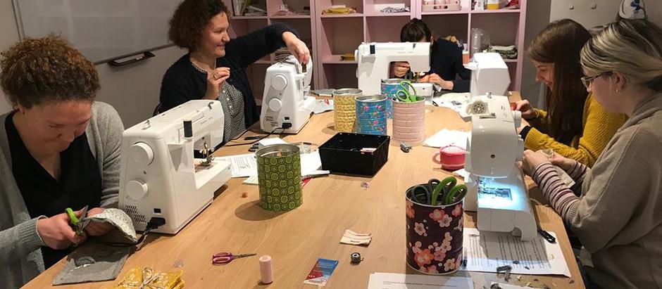 Les ateliers de couture c'est parti !!!
