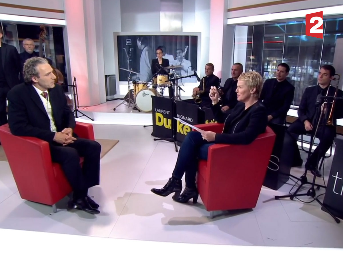 Laurent Mignard invité de France 2