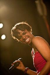 Kellylee Evans en soirée privée, organisée par L'esprit Jazz