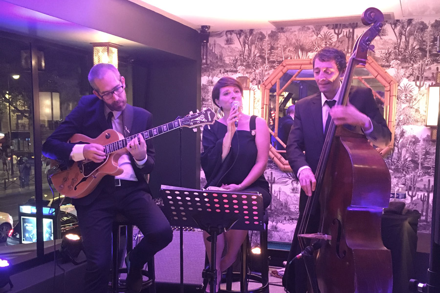 Mélanie Dahan trio