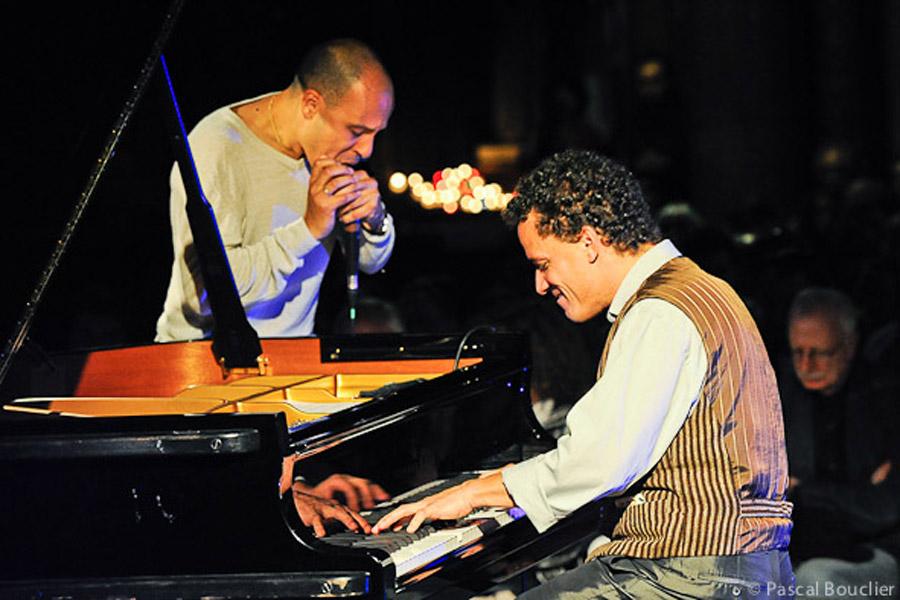Jacky Terrasson et Grégoire Maret