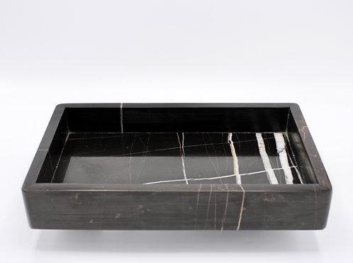 15x25 siyah kutu tepsi
