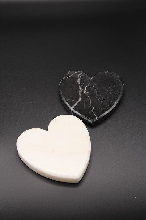 Ma'Lune kalp bardak altlığı
