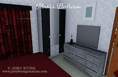 Small House Design with 2 Bedrooms