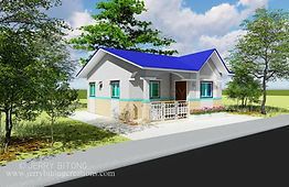 Simple Bungalow Housewith 3 bedrooms
