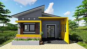 small house plan with 2 bedrooms