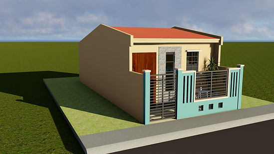 Small House Design (36 sq.m.) | Lumina House