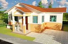 HOUSE PLAN BUNGALOW HOUSE DESIGN WITH 3 BEDROOM