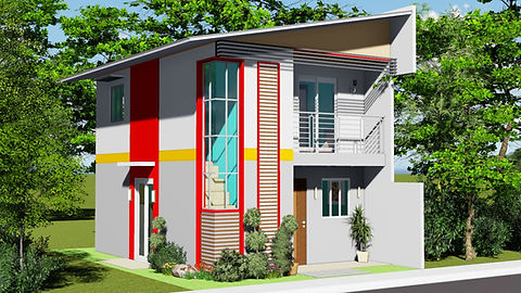 Two Storey House Plan & Design 3 Bedrooms