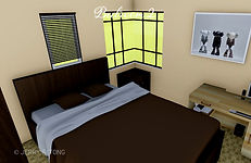 Modern Two Storey House Design with 3 Bedrooms | 63 sq.m