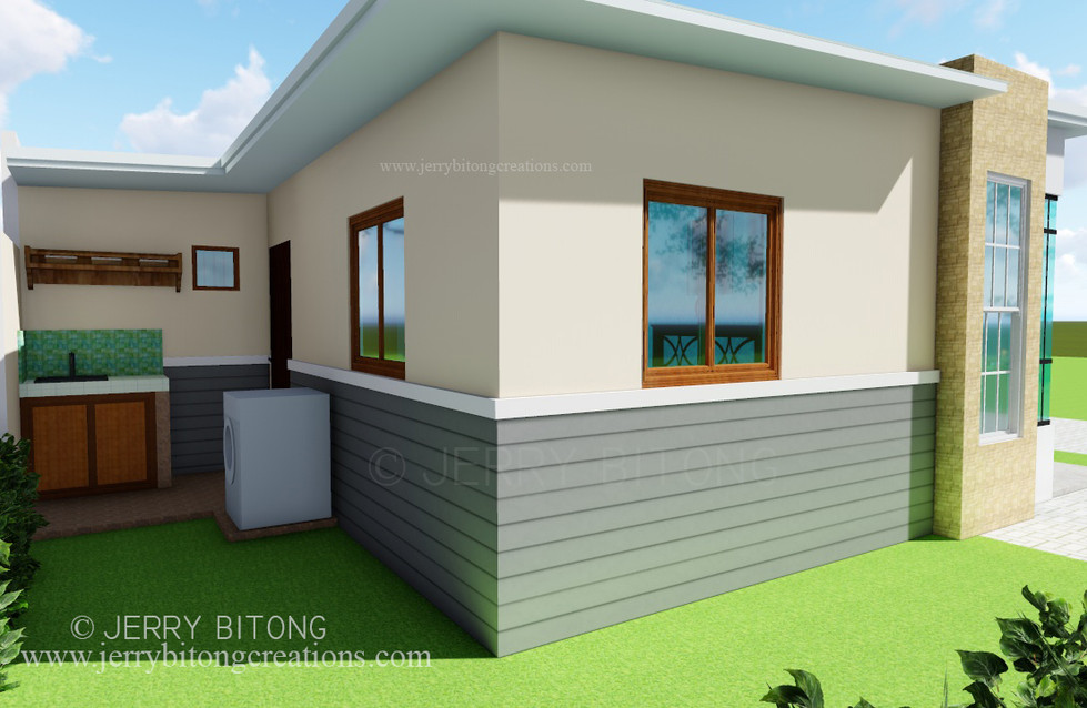 Modern House  Design with 2 Bedrooms 4.j