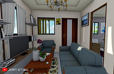 Two Bedroom | Bungalow Type House Design