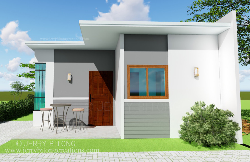 Modern House  Design with 2 Bedrooms 1.j