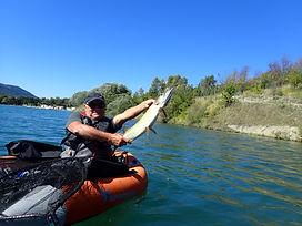 Guidage carnassiers en float-tube