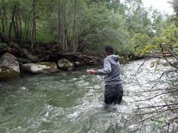 guidage rivière