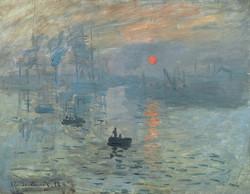 Claude Monet - Impression, soleil levant - Port de Le Havre