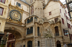 Le gros horloge - Centre historique - Rouen