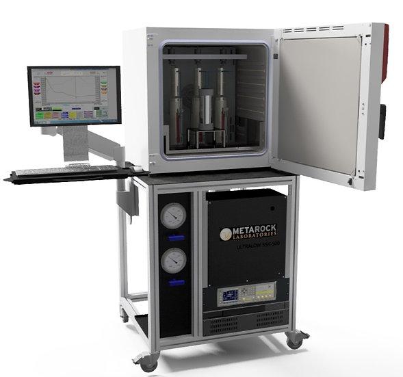 Unsteady State Nano Permeameter