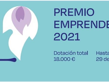 PREMIO EMPRENDEDORAS 2021  ¡18.000€ PUEDEN SER PARA TI!