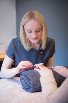 A range of manicures and nail treatments on offer.