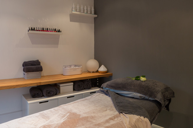 Peaceful and relaxing treatment rooms.