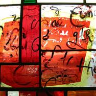 Manuscript Window (detail), Dunbeath Heritage Centre, 2008