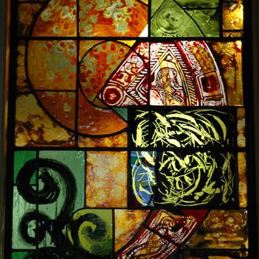 Material Window, Dunbeath Heritage Centre, 2008