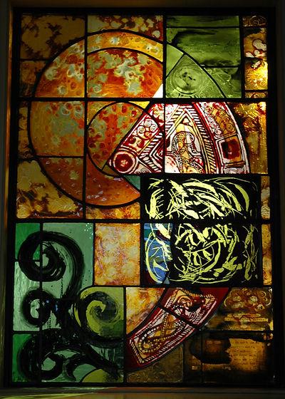 5. Material Window, Dunbeath Heritage Ce