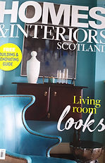 cover of Homes interior Scotland Magazin