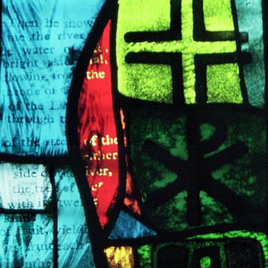 Millennium panel, Dalbeattie Church, Dumfries and Galloway, 2001