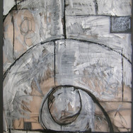 Sketch for textured glass screen, 2010