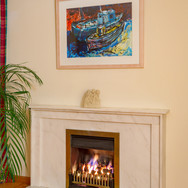 Port Seton Fishing Boats, acrylic in situ (prints available of this painting)