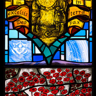 Christmas Truce Panel, Loretto Chapel, Musselburgh, 2014