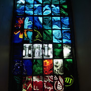 Millennium panel, Longniddry Church, East Lothian, 2001