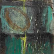 Untitled II, mixed media on card, 20cm x 30cm (image credit Gordon Bell)