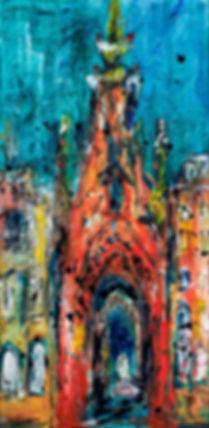 Painting, Edinburgh Scott Monument.jpg