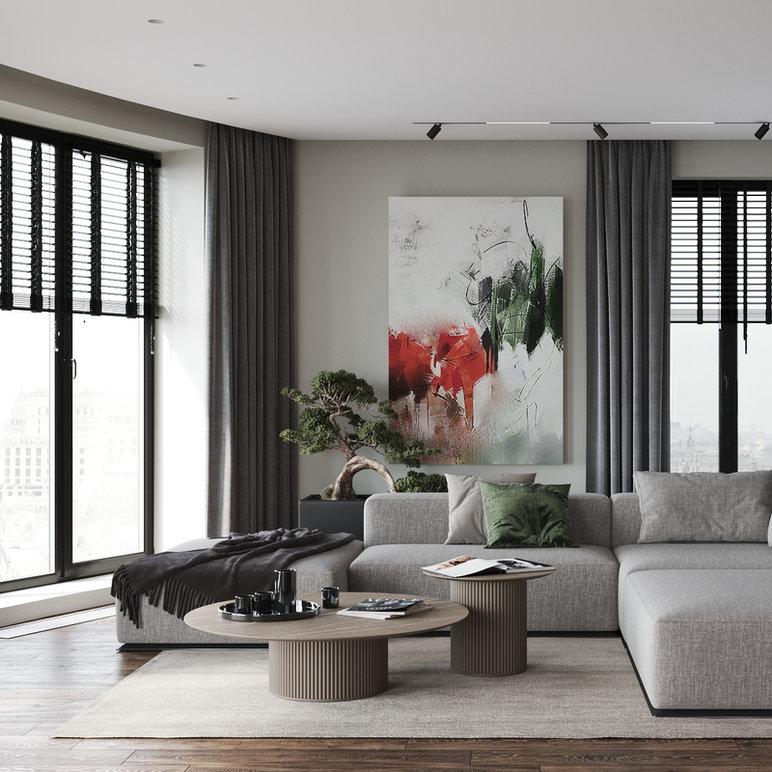 фрагмент из проекта: milia interior