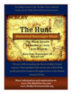 Hunt Poster 2014 (Debbie LaPlaca's confl