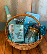 19. Totally Teal Basket