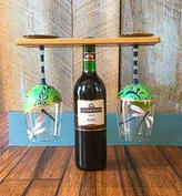 29. Hand Painted Wine Glasses