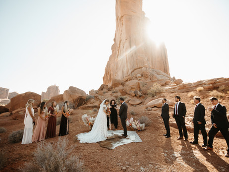 Arches National Park Micro-Wedding