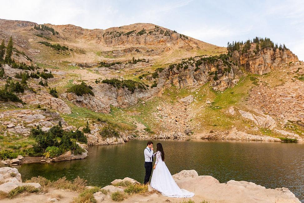 Skye & Sean Utah Mountain Elopement