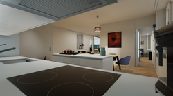 Halter Henz Apartment A - Kitchen