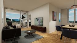 Halter Henz Apartment A - Living Room