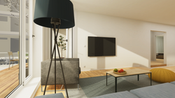 Halter Henz Apartment C - TV