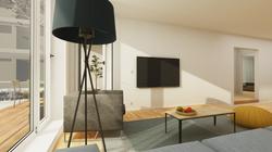 Halter Henz Apartment C - TV