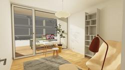 Halter Henz Apartment C - Study