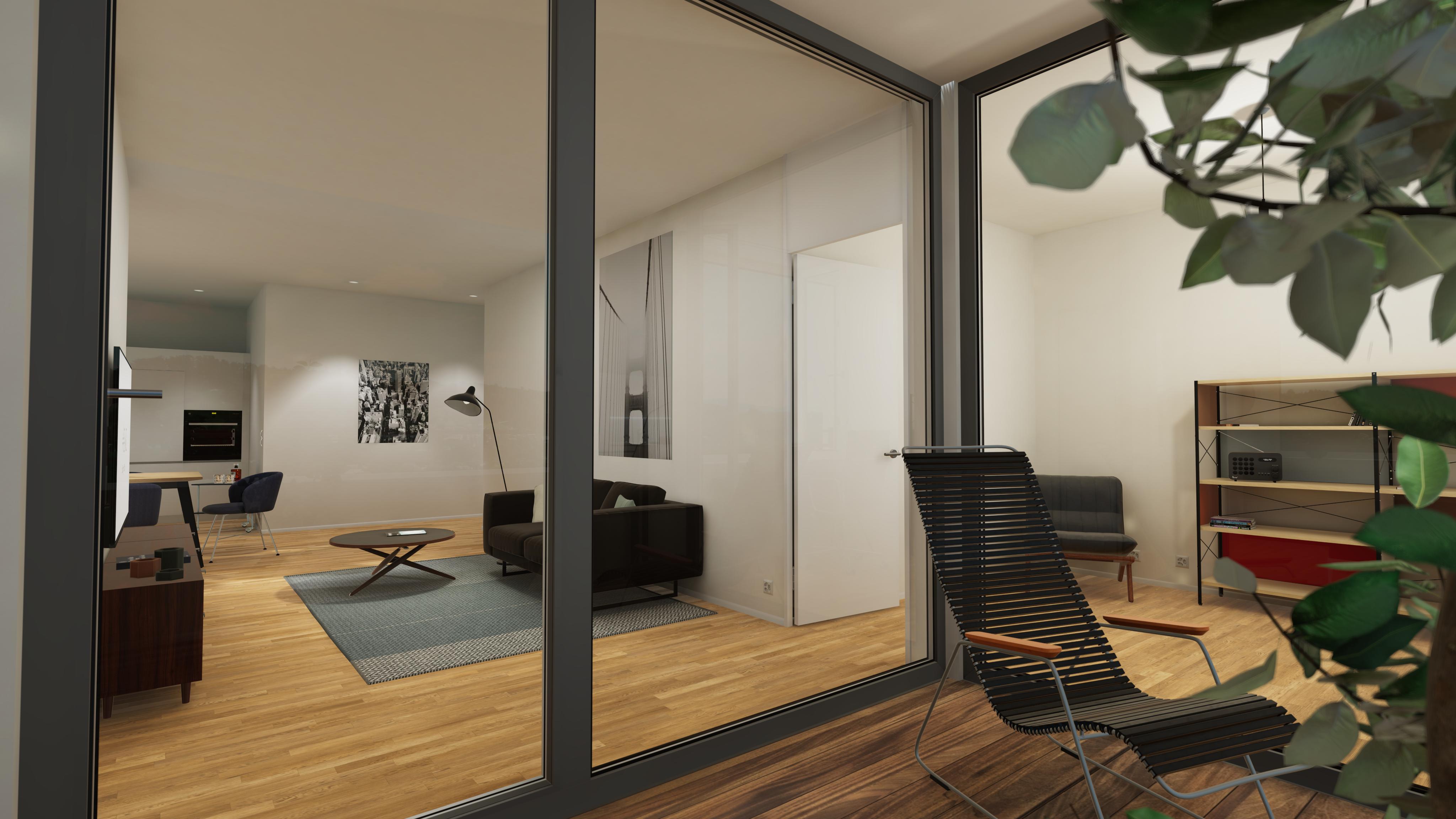 Halter Henz Apartment A - Loggia