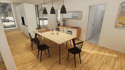 Halter Henz Apartment C - Dining Area