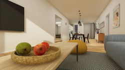 Halter Henz Apartment C - Living Room